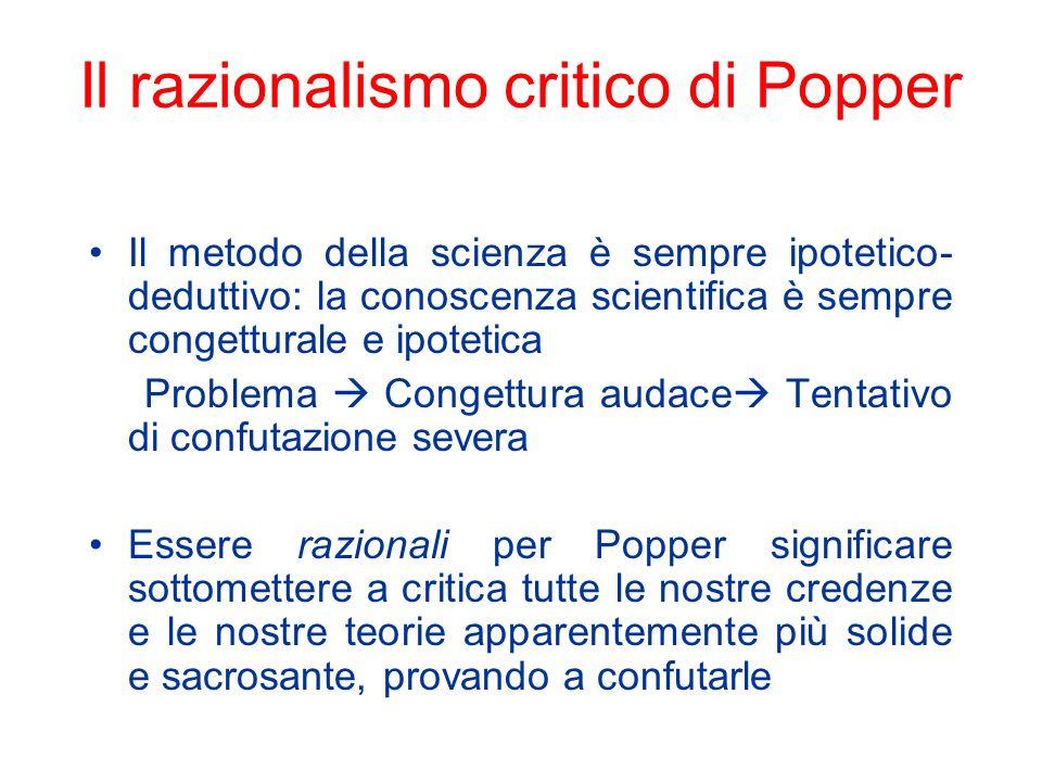 Lantirealismo sulle teorie di Popper Cè unaltra asimmetria epistemologica che dipende dalla prima: mentre possiamo venire a sapere solo se una teoria