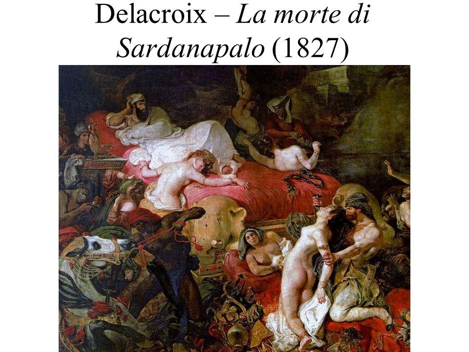 Delacroix – La morte di Sardanapalo (1827)