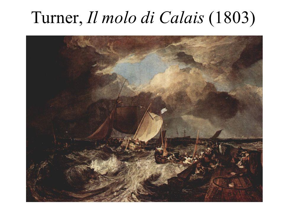 Turner, Il molo di Calais (1803)