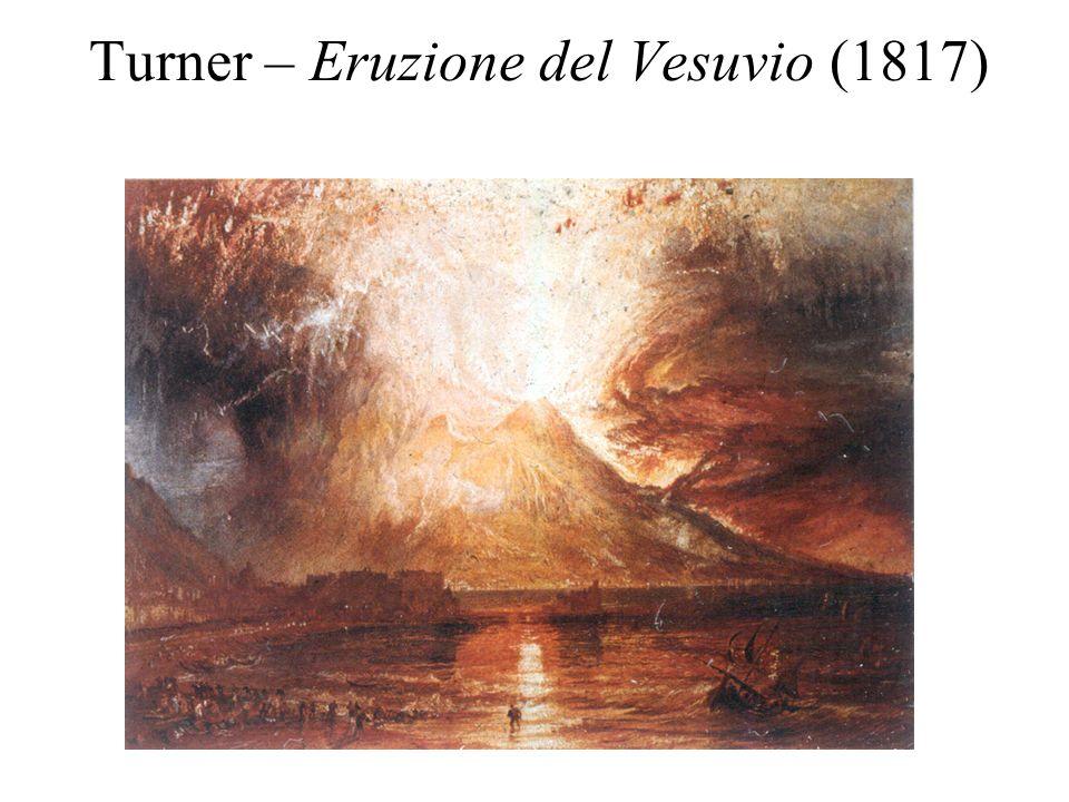 Turner – Eruzione del Vesuvio (1817)