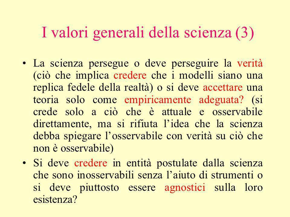 Alcune osservazioni scettiche… Le teorie rivali durante la rivoluzione astronomica e le teorie dellottica nel XIX secolo non rimasero empiricamente eq