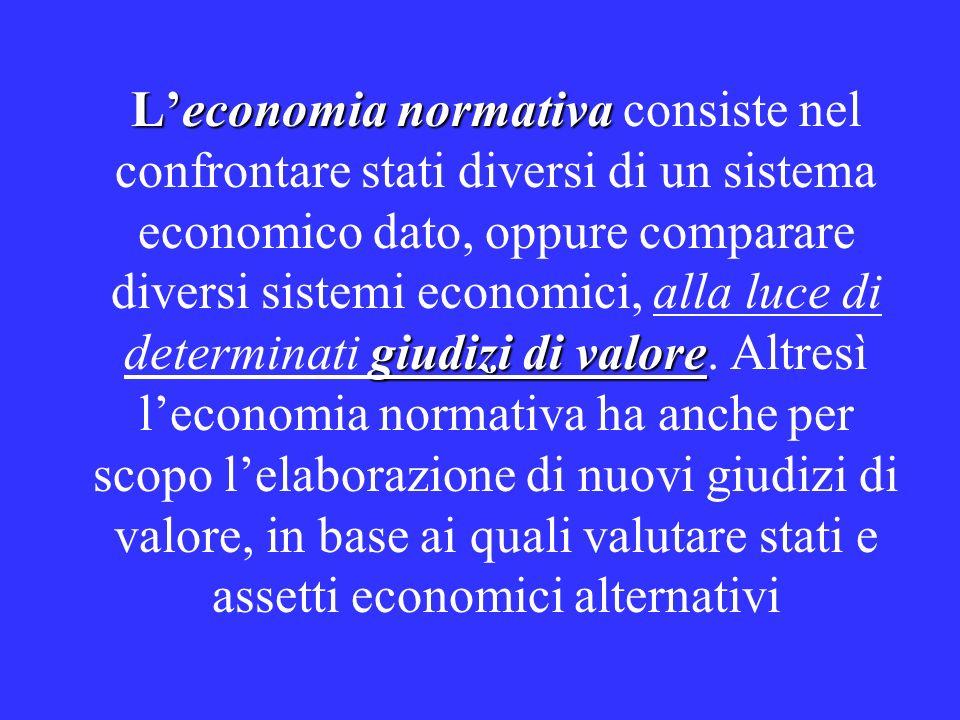 normativa Teoria normativa della Politica Economica La programmazione economica dare coerenzarazionalizzare l intervento pubblico serve a dare coerenza e razionalizzare l intervento pubblico