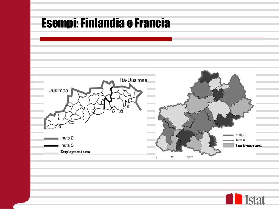 Esempi: Finlandia e Francia