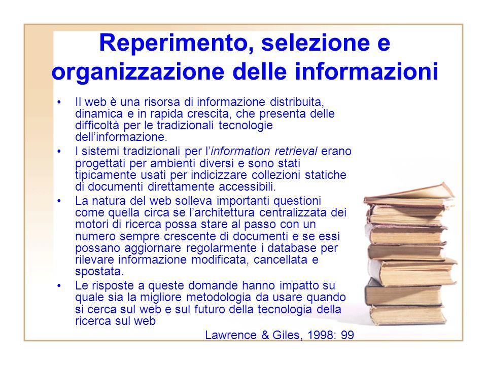 Gli spazi di condivisione Wikipedia I meccanismi reputazionali al centro del funzionamento della blogosfera Gli algoritmi di ranking che presiedono al