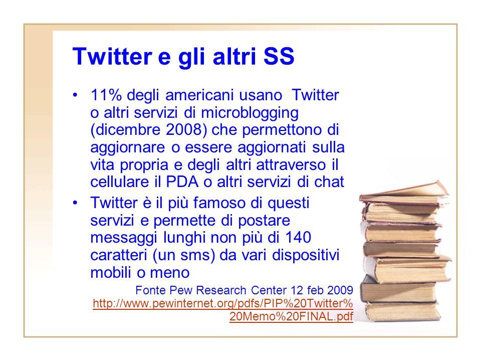 Twitter il social network dei giornalisti