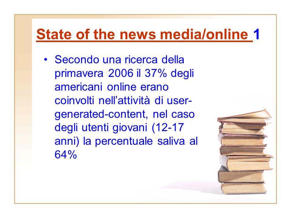Web 2.0 e Citizen Journalism (CJ) Il web 2.0 starebbe mettendo in crisi anche la definizione di giornalismo dal momento che i cittadini fanno il lavor