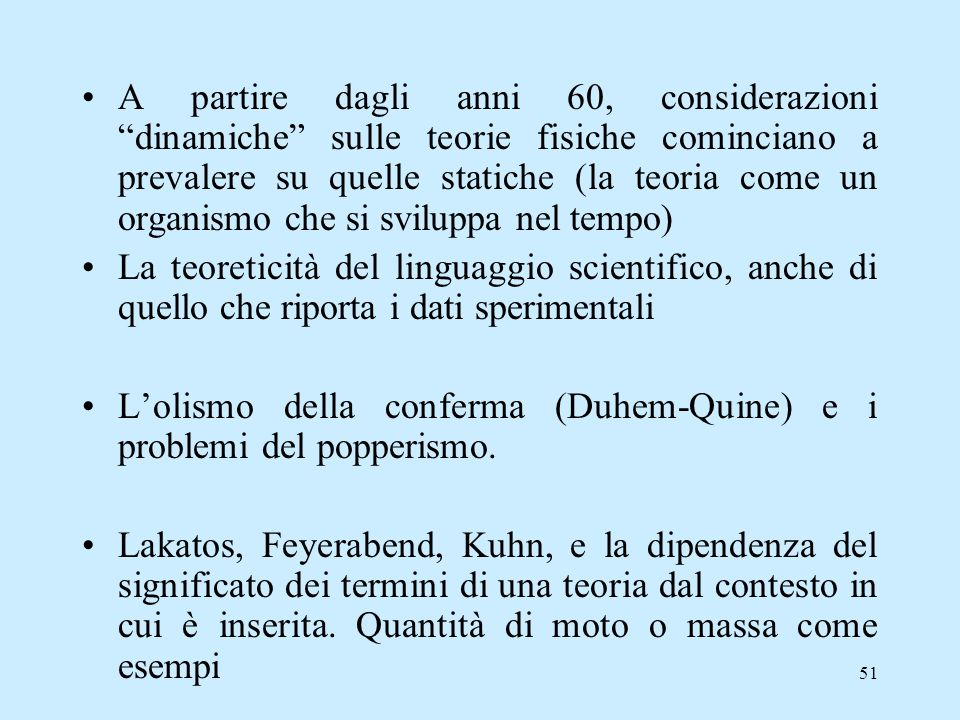 (3 ) Come mutano le teorie scientifiche? T.K. Kuhn