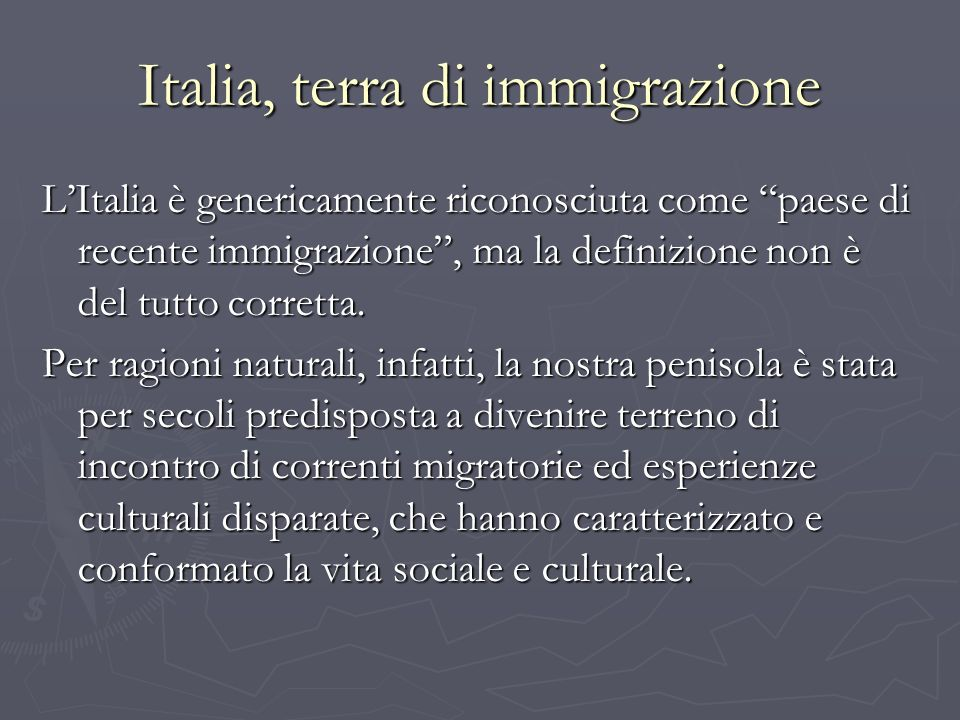 La legge Bossi-Fini Legge 189/2002.Punti principali: Legge 189/2002.