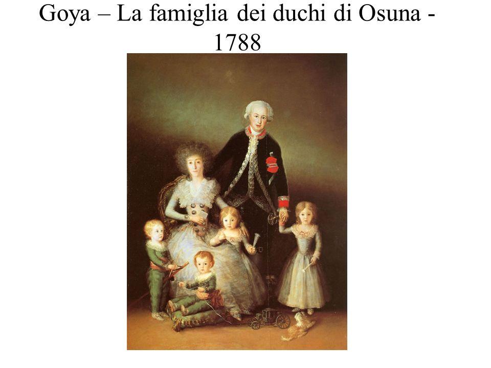 Goya – La boda – 1797-1798