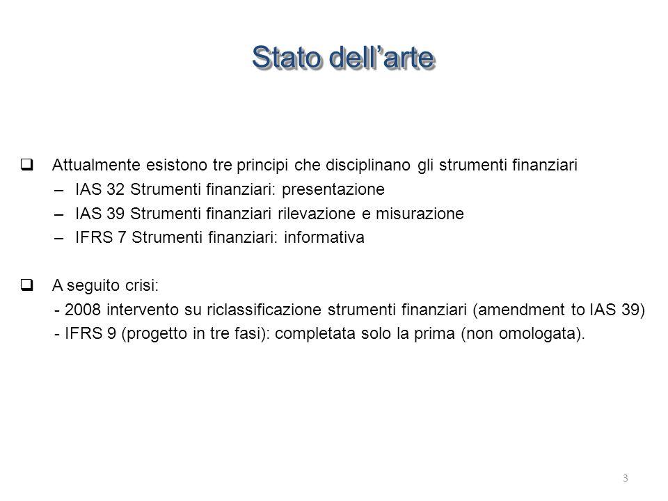 Ambito di applicazione e classificazione dei contratti Riepilogo classificazione contratti - IFRS 4 14