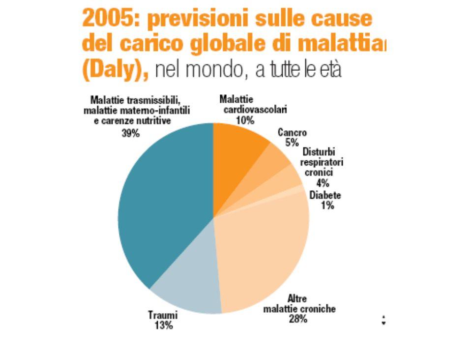 ES contribuisce ad obiettivi di salute (generali) Raggiungimento di un più elevato stato di salute nella popolazione di riferimento, solitamente manifestato dalla modifica dei valori di indicatori epidemiologici (riduzione dei tassi di incidenza di malattia, di mortalità, etc.)