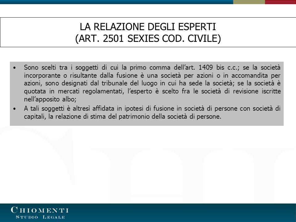 LA DECISIONE IN MERITO ALLA FUSIONE (ART.2502 COD.