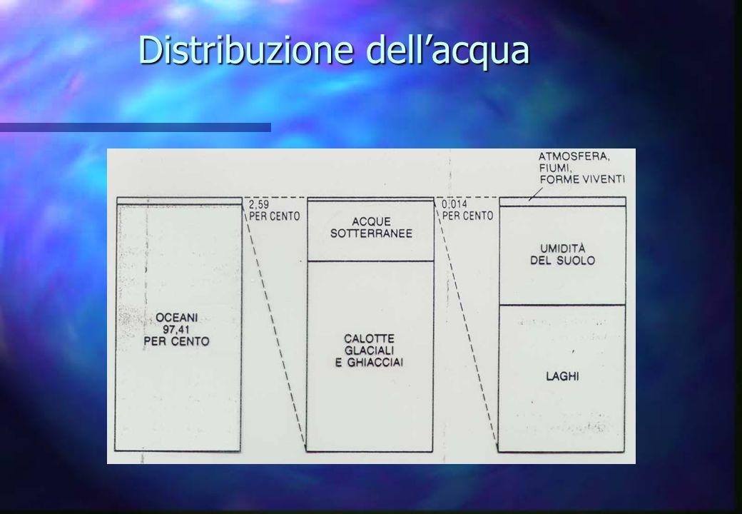 Distribuzione dellacqua