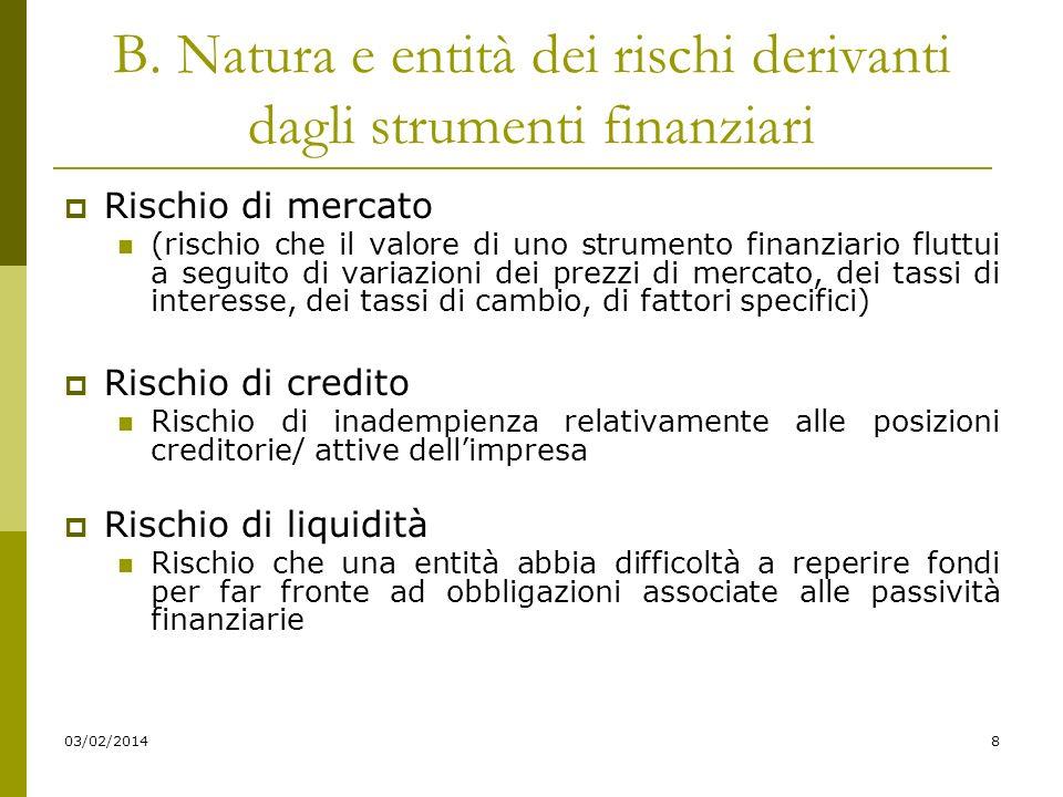 03/02/20149 Disciplina local Art.2427 bis del c.c.