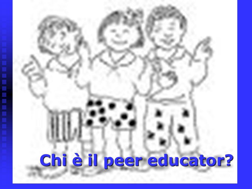 Chi è il peer educator?
