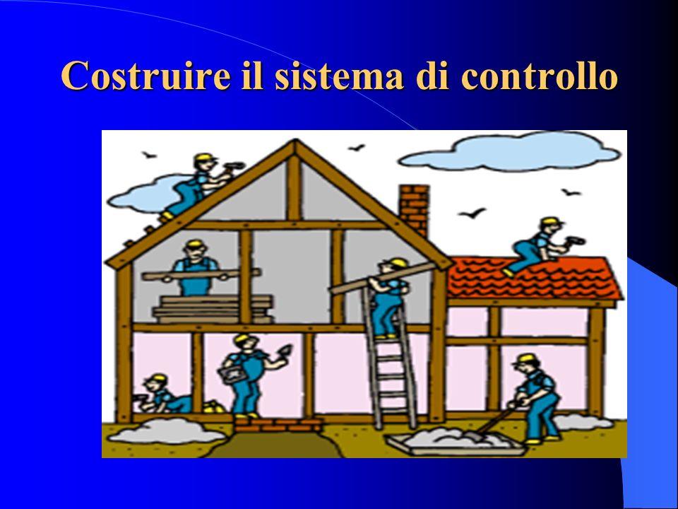 Costruire il sistema di controllo