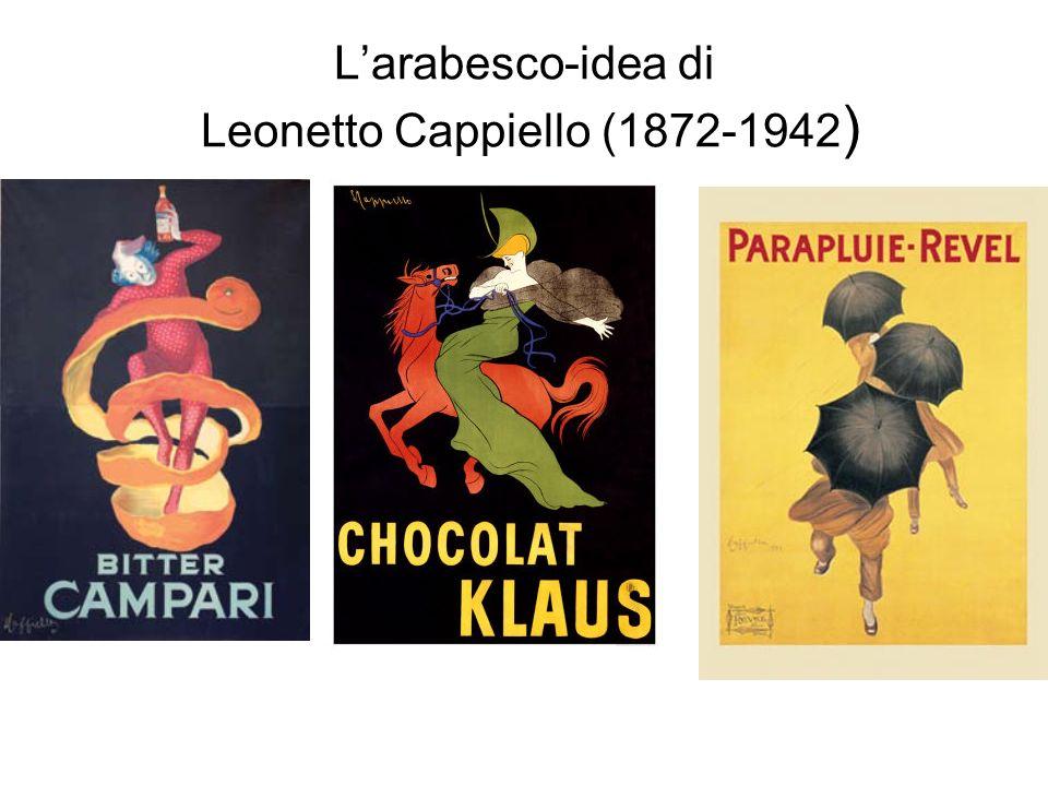 Larabesco-idea di Leonetto Cappiello (1872-1942 )