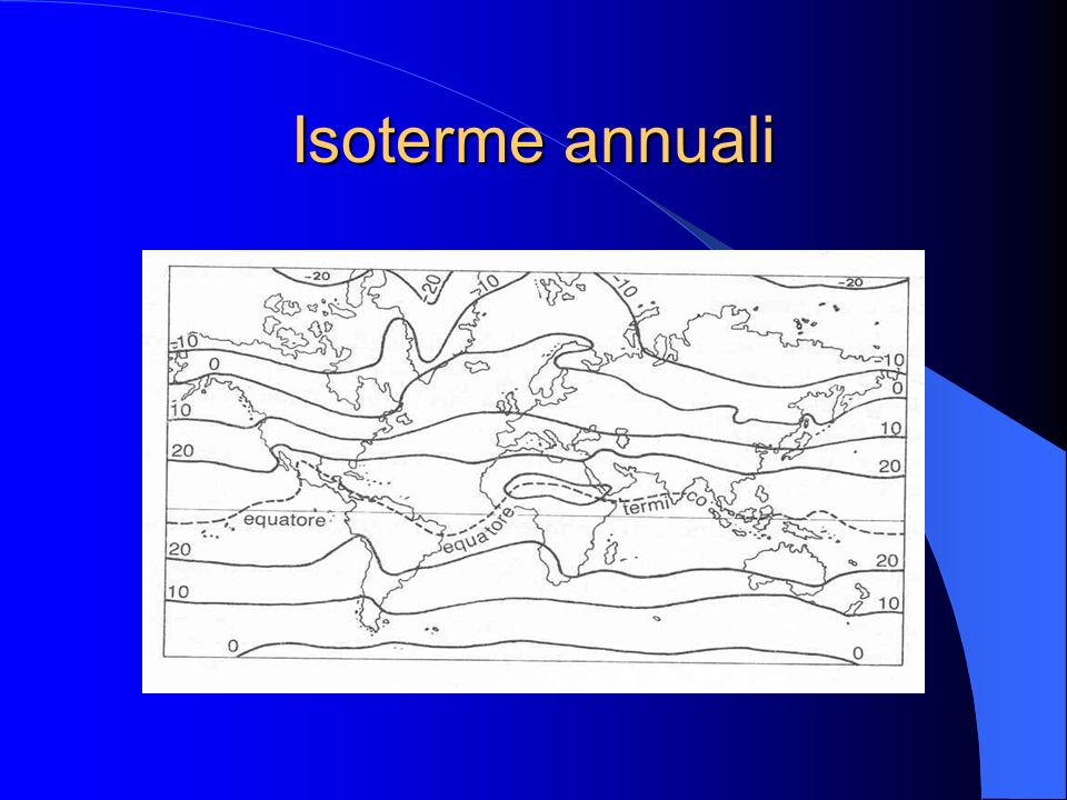 Isoterme annuali