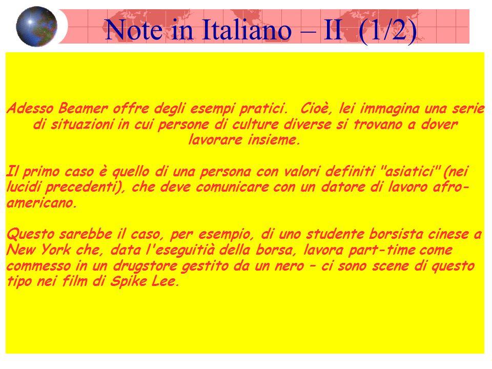 Note in Italiano – II (1/2) Adesso Beamer offre degli esempi pratici.