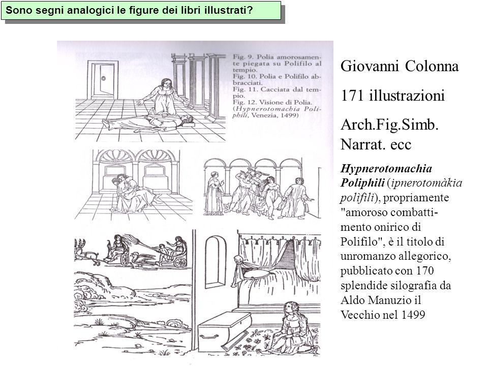 Sono segni analogici le figure dei libri illustrati.