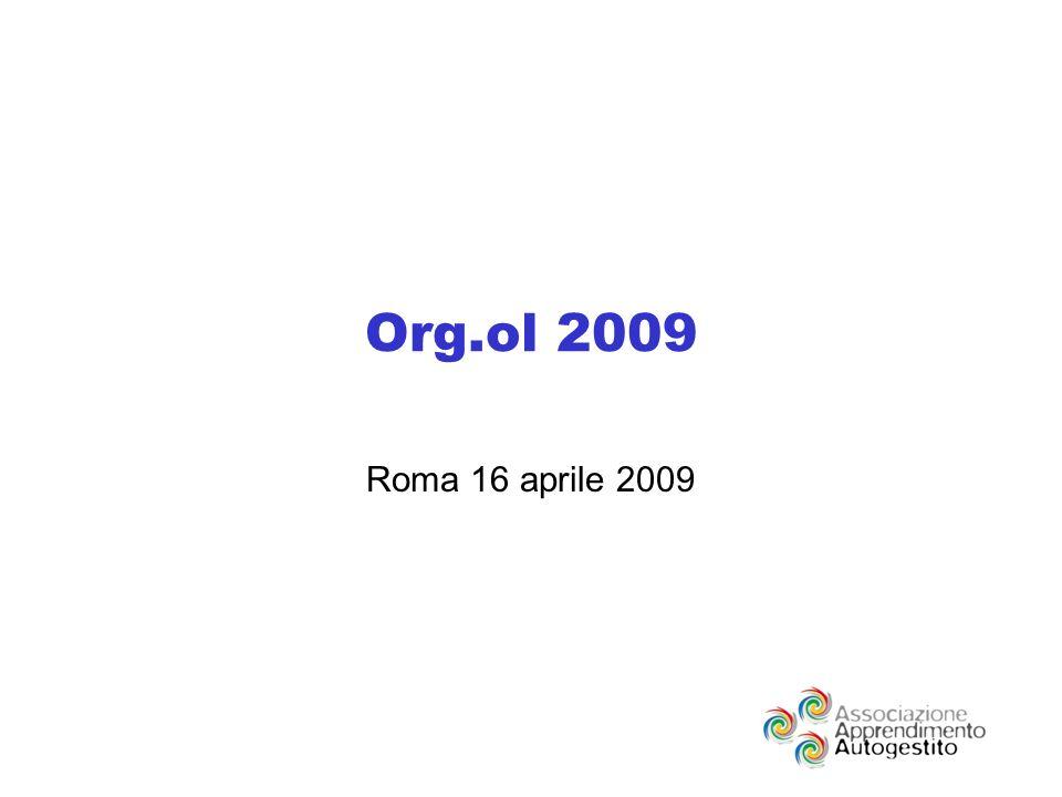 Org.ol 2009 Roma 16 aprile 2009