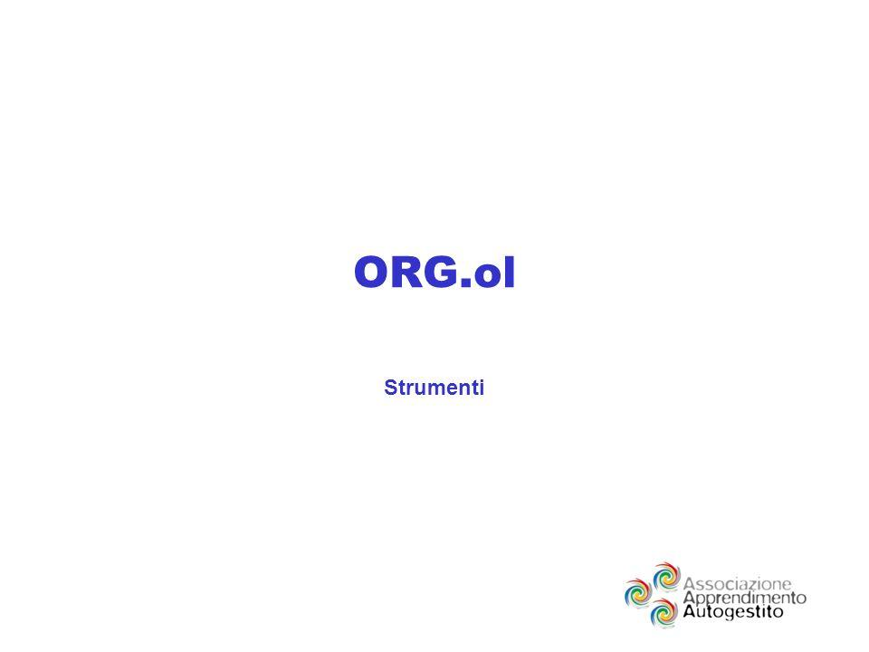 ORG.ol Strumenti