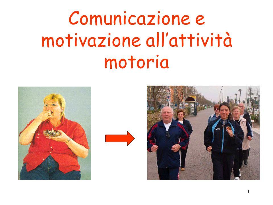 1 Comunicazione e motivazione allattività motoria