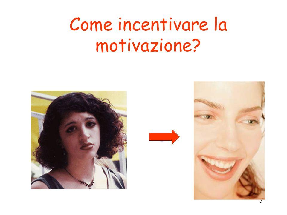 3 Come incentivare la motivazione?