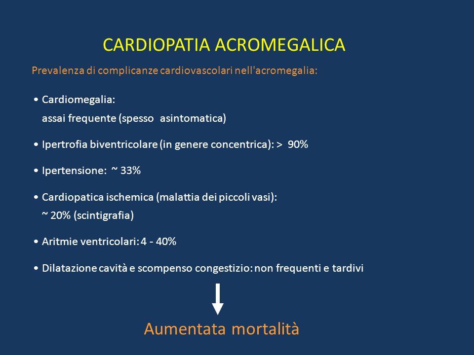 Rischi associati alla somministrazione di dosi sovrafisiologiche di GH ACROMEGALIA Malattia determinata da ipersecrezione di GH nell'età adulta, carat