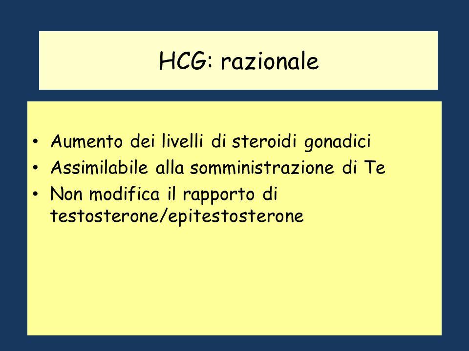 Gonadotropine (LH/ICSH, hCG) Hanno effetti diversi nelluomo e nella donna. Nelluomo, controllano la produzione di testosterone, pertanto vengono assun