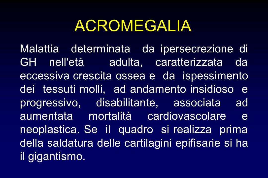 MODELLI PER VALUTARE GLI EFFETTI DEL GH Soggetti con deficit di GH: effetti terapia sostitutiva Effetti acuti dosi farmacologiche di GH Acromegalia (e