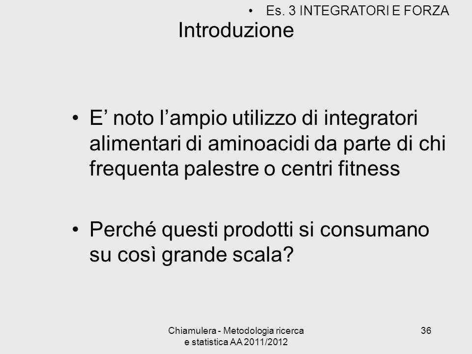 Introduzione E noto lampio utilizzo di integratori alimentari di aminoacidi da parte di chi frequenta palestre o centri fitness Perché questi prodotti