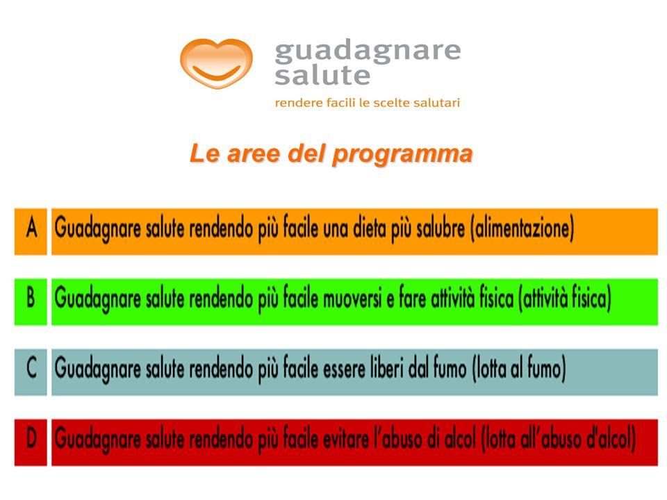 13 Le aree del programma
