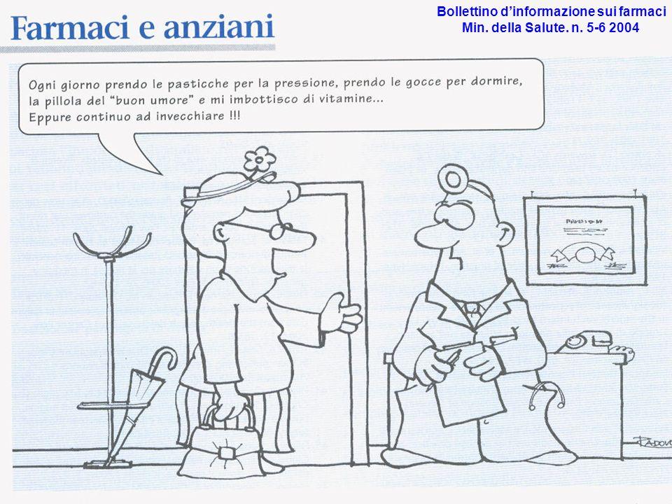 Bollettino dinformazione sui farmaci Min. della Salute. n. 5-6 2004
