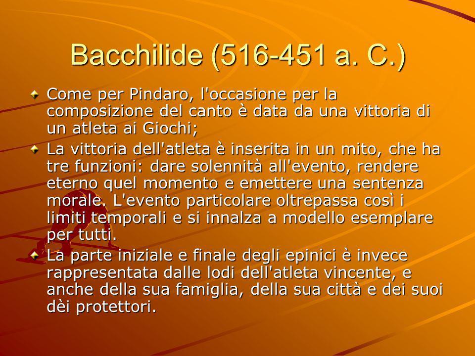 Bacchilide (516-451 a.