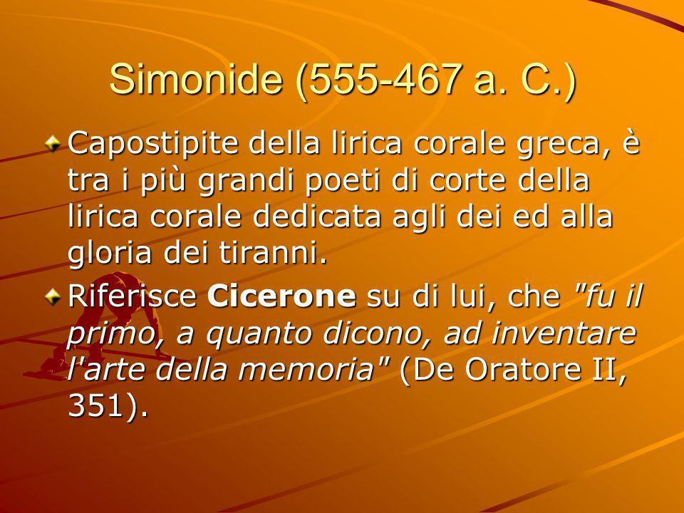 Simonide (555-467 a.