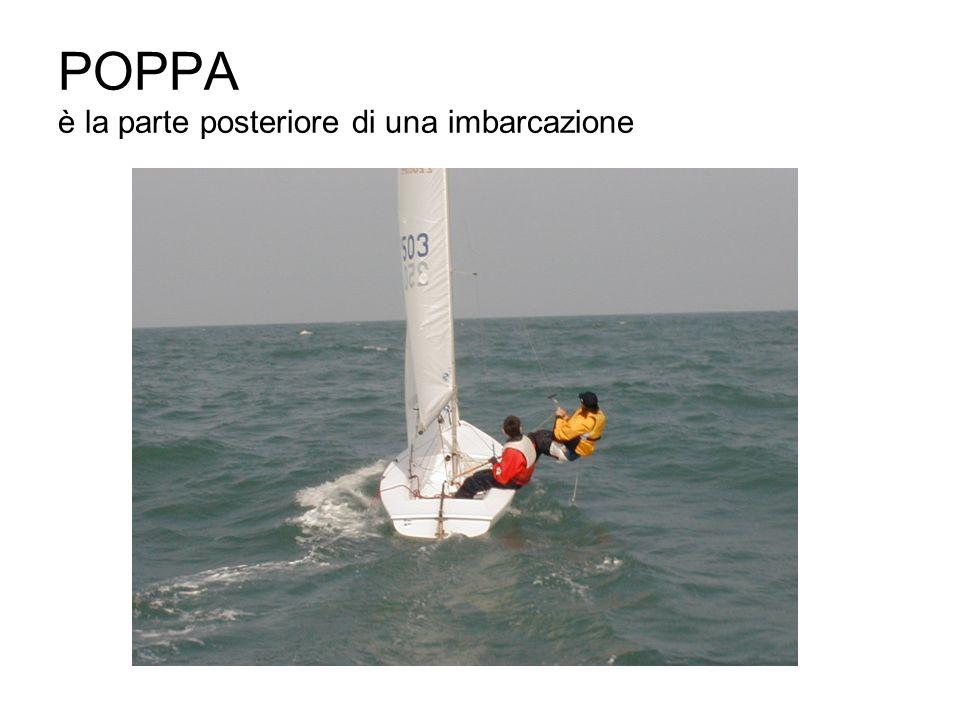 POPPA è la parte posteriore di una imbarcazione