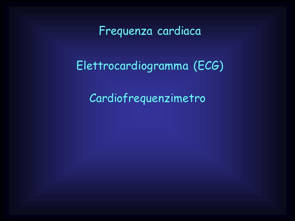 Frequenza cardiaca Elettrocardiogramma (ECG) Cardiofrequenzimetro