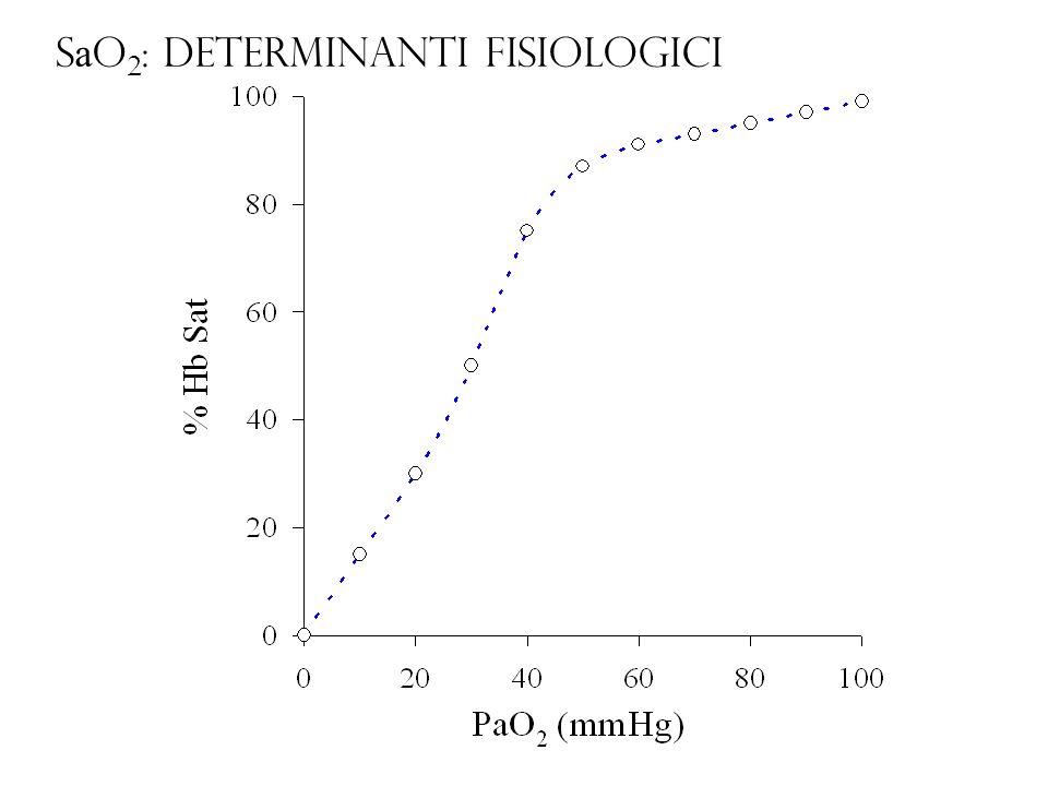 S a O 2 : determinanti fisiologici