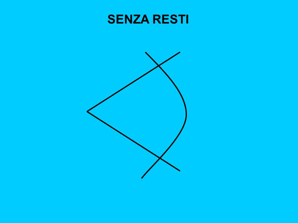 SENZA RESTI