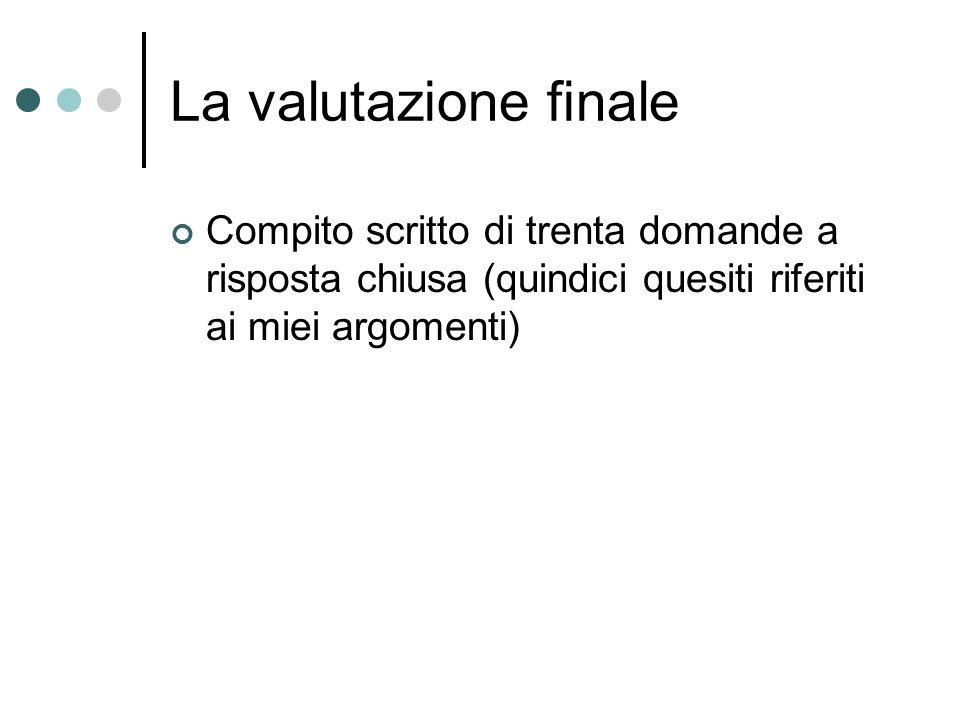 Gli insegnanti del corso Andrea Campara Andrea Scattolini
