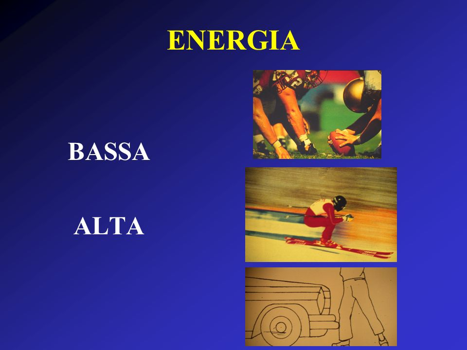 ENERGIA BASSA ALTA