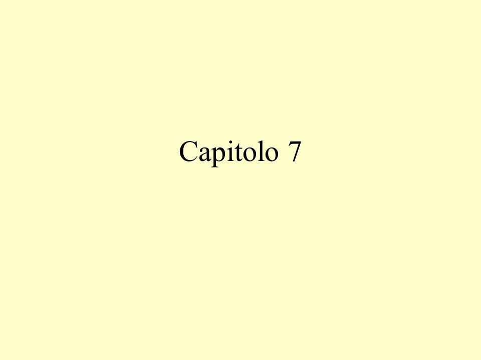 Capitolo 7