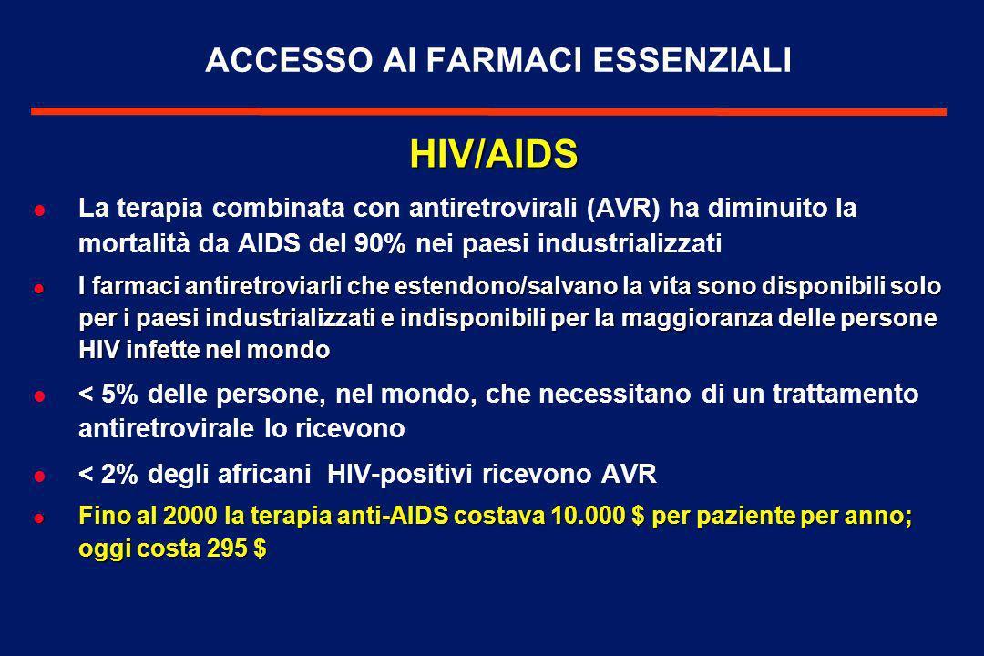 AIDS, SICUREZZA E CONFLITTI l La pandemia HIV/AIDS è accentuata dalle condizioni di violenza e instabilità, che aumentano il rischio di esposizione al