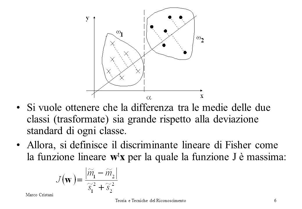 17 Da PCA ad eigenfaces Dato un gruppo di punti, ho trovato la base che descrive lo scattering dei punti Ogni punto puo essere mappato tramite i componenti della base (numero componenti = numero dimensioni N) Usare meno componenti (le componenti principali) permette di proiettare i punti in un sottospazio altamente informativo riduzione della dimensionalità dei punti Ora passiamo alle facce (...punti!) dataset di M facce, N dimensioni … N.B.: di solito, M<<N