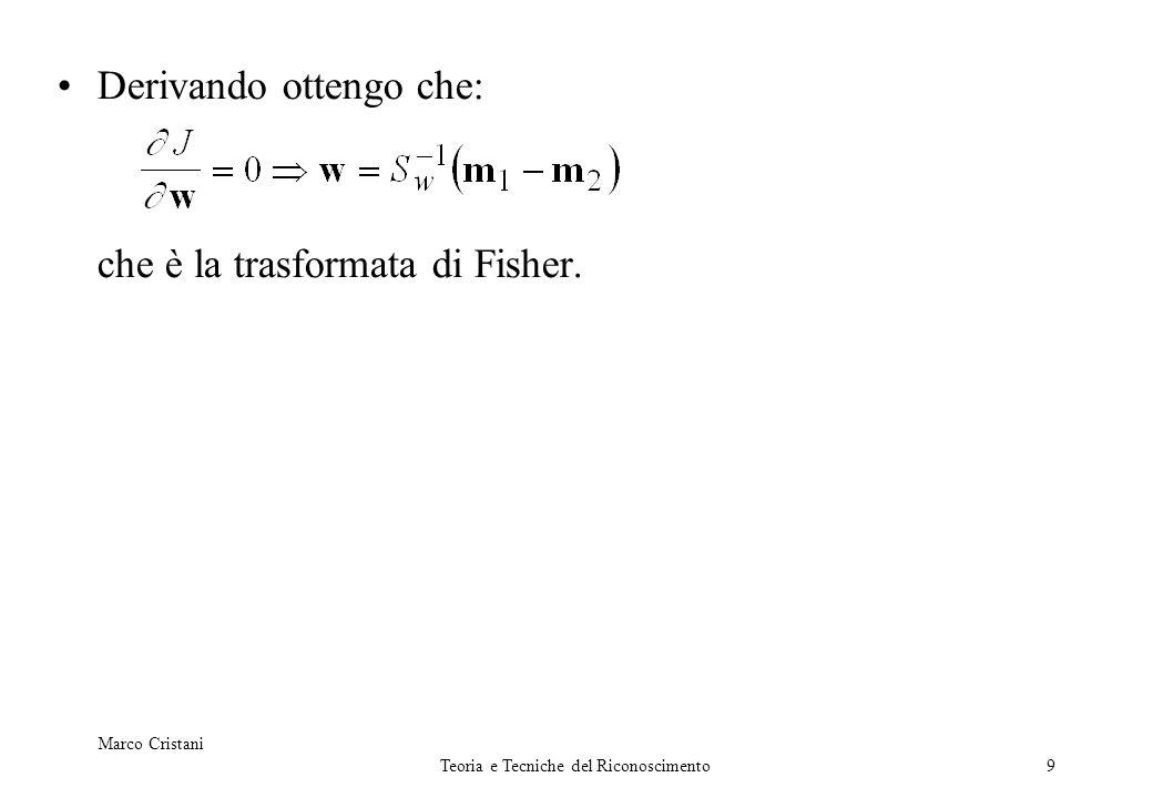 20 Eigenfaces Autovettori {e} (eigenfaces): in pratica?