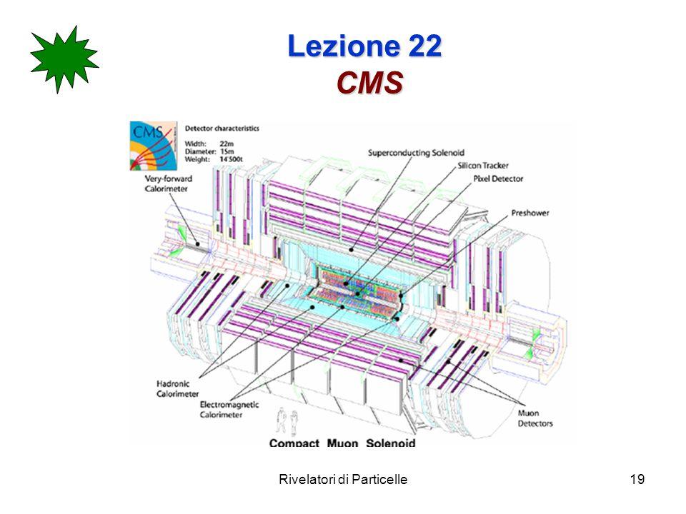 Rivelatori di Particelle19 Lezione 22 CMS