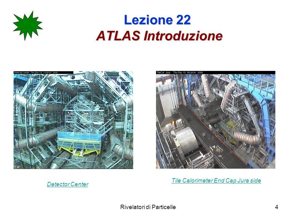 Rivelatori di Particelle25 Lezione 22 Calorimetro elettromagnetico La struttura a fisarmonica assicura una simmetria in angolo azimutale completa.