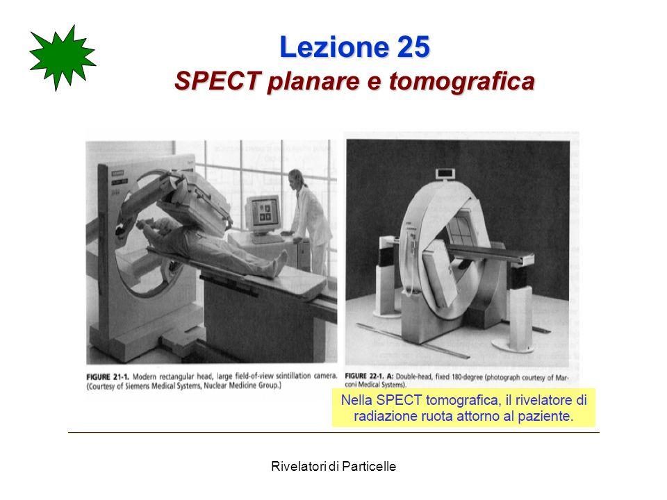Rivelatori di Particelle Lezione 25 SPECT planare e tomografica