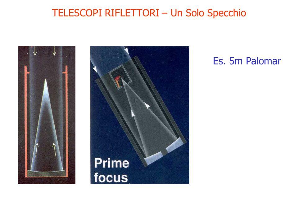 TELESCOPI RIFLETTORI – Un Solo Specchio Es. 5m Palomar